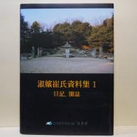 숙빈최씨자료집 1 - 일기, 원지 (淑嬪崔氏資料集 1 - 日記, 園誌)