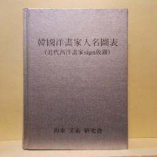 한국양화가인명도표 (韓國洋畵家人名圖表)